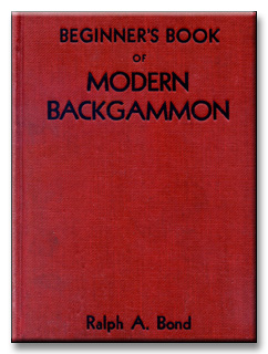 Beginner's Book of Modern Backgammon